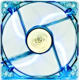 80mm Deepcool Transparent Frame Case Fan - Blue LED