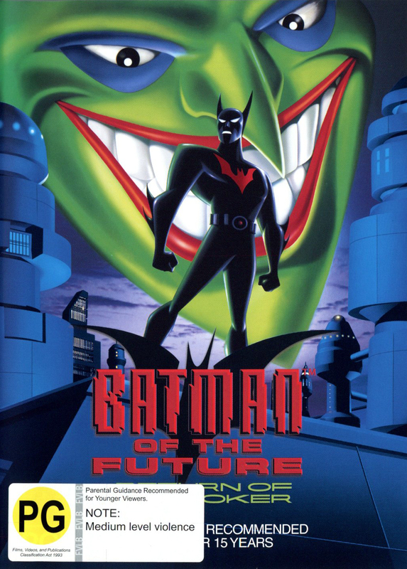 Batman Of The Future:  Return Of The Joker on DVD