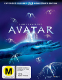 Avatar: Extended Collector's Edition on Blu-ray