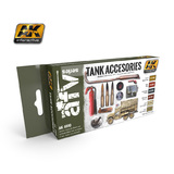 AK Tank Accessories Paint Set