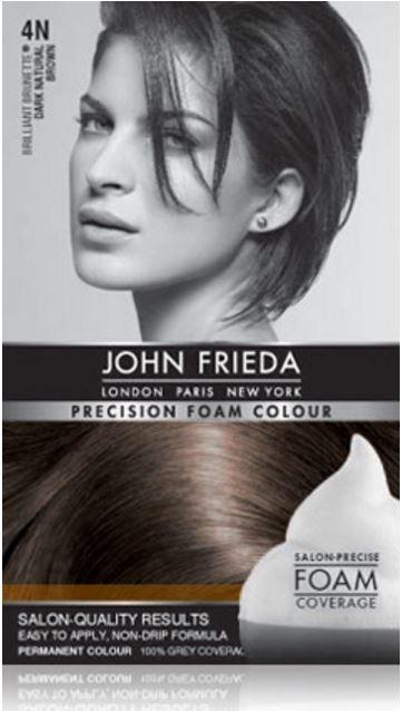 John Frieda - Precision Foam Colour: Brilliant Brunette - Dark Natural Brown (4N)