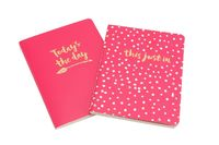 Oh So Pretty A6 Notebooks (Pink, Set of 2)