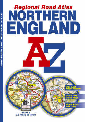 Northern England Regional Road Atlas by Geographers A-Z Map Company image