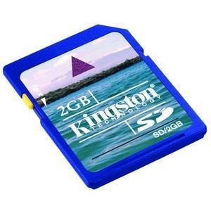 Kingston 2GB SecureDigital (SD) Memory Card image