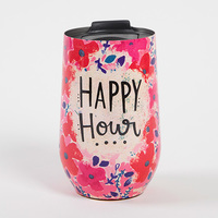Natural Life: Wine Tumbler - Happy Hour
