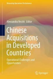 Chinese Acquisitions in Developed Countries