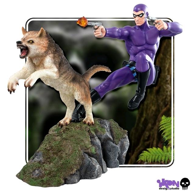 Phantom and Devil (Purple Suit) - 1:6 Scale Statue
