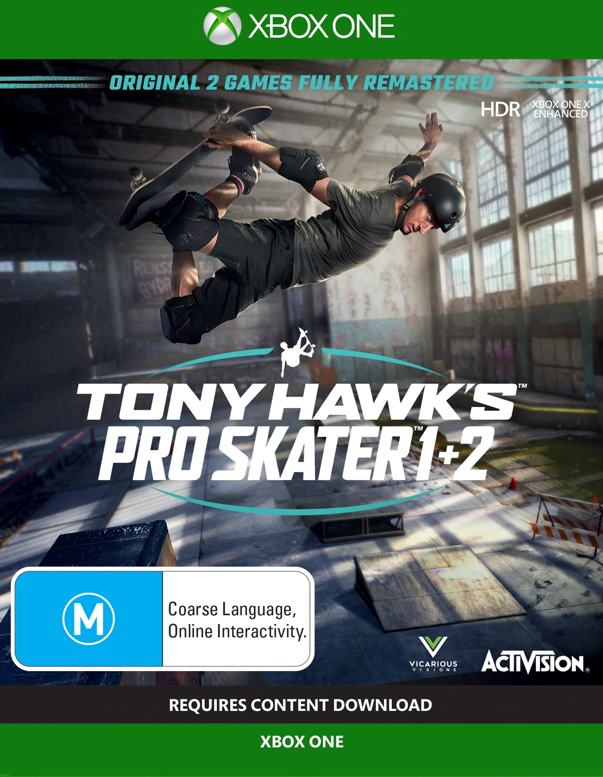 Tony Hawk's Pro Skater 1 & 2 screenshot