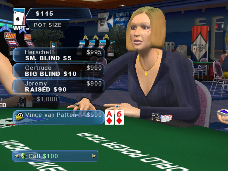World Poker Tour 2K6 for PS2 image