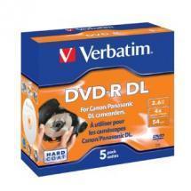 Verbatim DVD-R DL 2.6GB 5Pk 8cm Hardcoat 4x