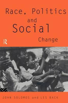 Race, Politics and Social Change by Les Back image