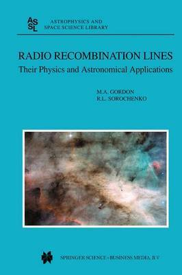 Radio Recombination Lines by M.A. Gordon image