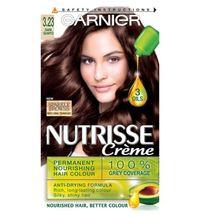 Garnier Nutrisse Permanent Nourishing Hair Colour - 3.23 Dark Quartz
