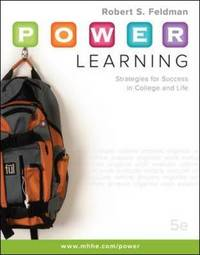 P.O.W.E.R. Learning by Robert S Feldman image