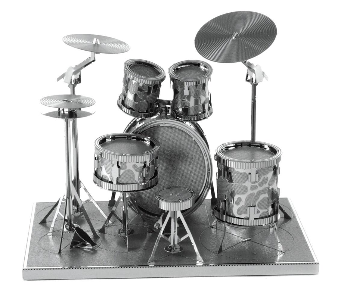 Metal Earth: Drum Set - Model Kit image