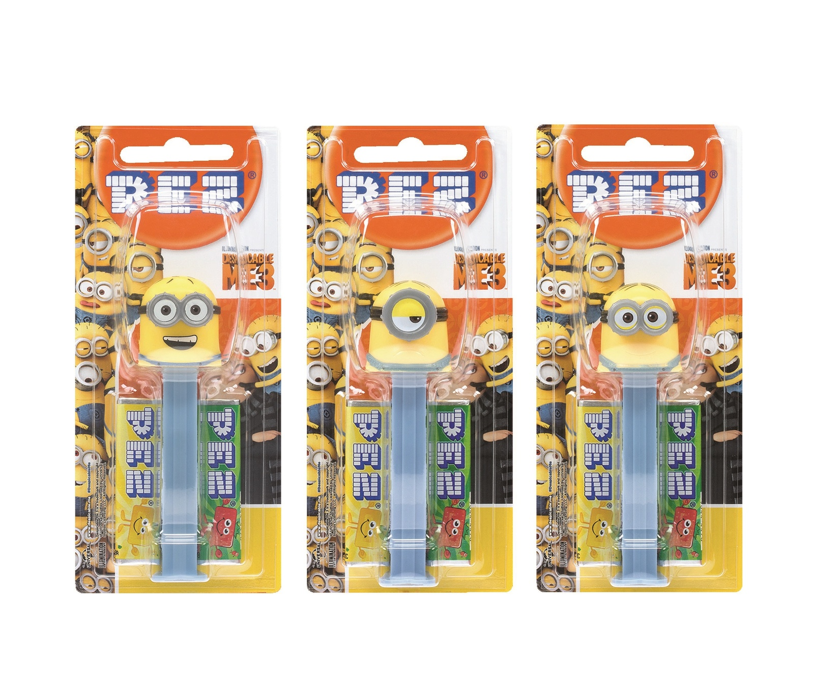 PEZ: Despicable Me 3 Candy Dispenser - 17g (Assorted) image