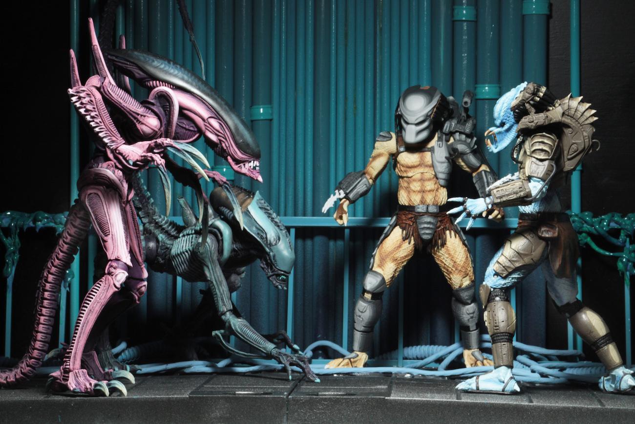 "Alien vs. Predator Arcade: Mad Predator - 8"" Articulated Figure image"