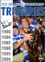 NRL - The Bulldogs Premiership Triumphs on DVD