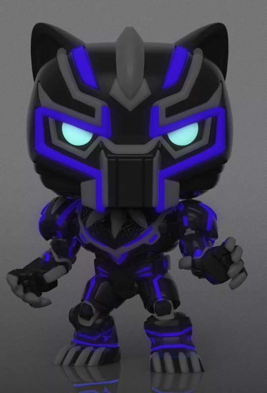 Marvel: Black Panther (Mech Strike/Glow) - Pop! Vinyl Figure