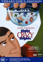Adam Sandler's Eight Crazy Nights on DVD