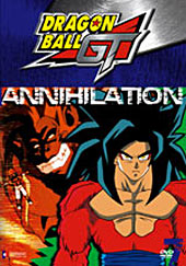 Dragon Ball GT Vol 07 - Annihilation on DVD