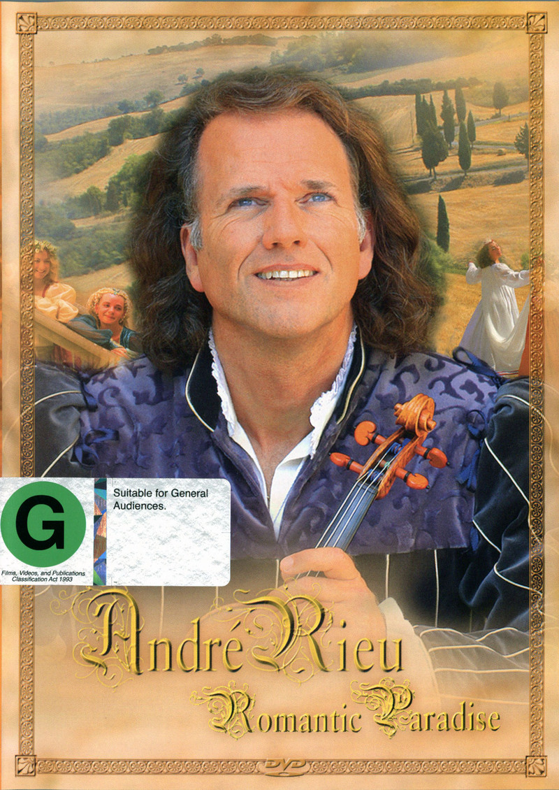 Andre Rieu - Romantic Paradise on DVD image
