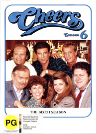 Cheers - Complete Season 6 (4 Disc Set) on DVD image