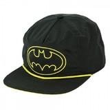 Batman: Black 5 Panel Slouch Snapback Cap