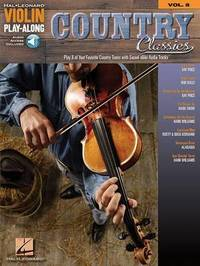Violin Play-Along Volume 8 by Hal Leonard Publishing Corporation image