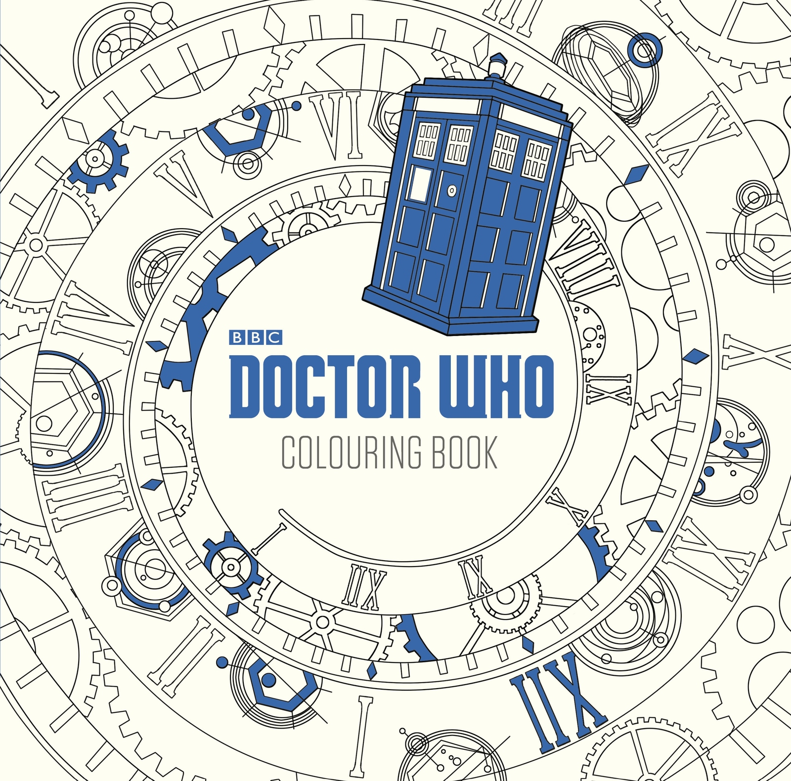 Swearing colouring in book nz - Doctor Who The Colouring Book