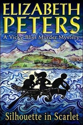Silhouette in Scarlet (Vicky Bliss Mystery #3) by Elizabeth Peters