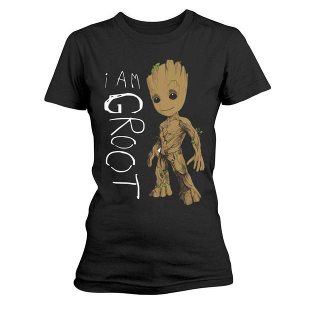 Guardians Of The Galaxy I am Groot T-Shirt (Large)
