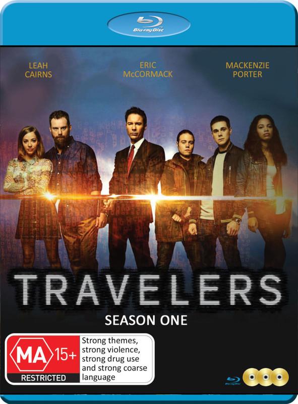Travelers - Season One on Blu-ray