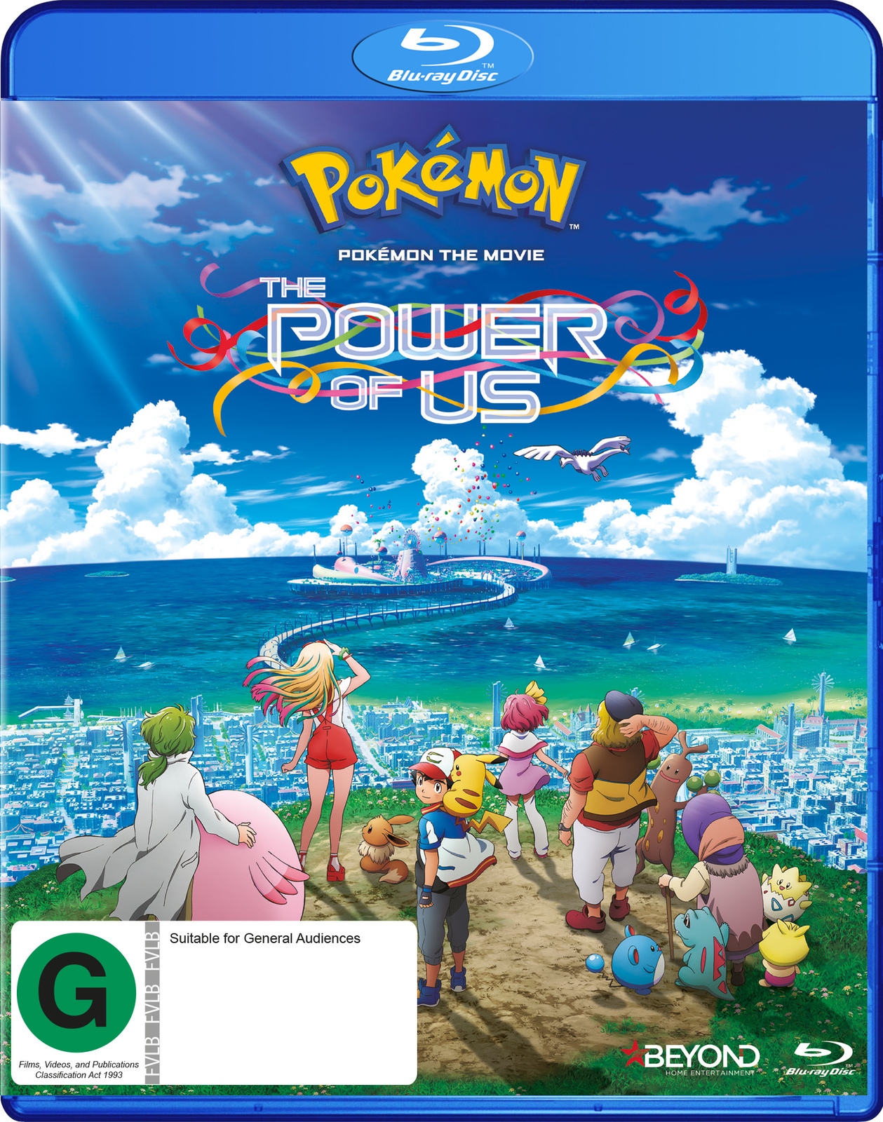 Pokemon The Movie: The Power Of Us on Blu-ray image