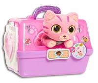 Doc McStuffins: Toy Hospital Pet Carrier - Cat (Pink/White)