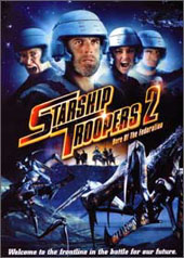Starship Troopers 2 - Hero Of The Federation on DVD