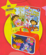 Dora The Explorer - City Of Lost Toys / Pirate Adventure (BONUS Lunch Box) (2 Disc Box Set) on DVD