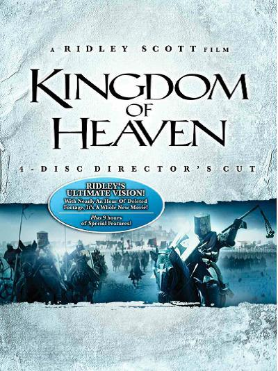 Kingdom Of Heaven - Director's Cut (4 Discs) on DVD