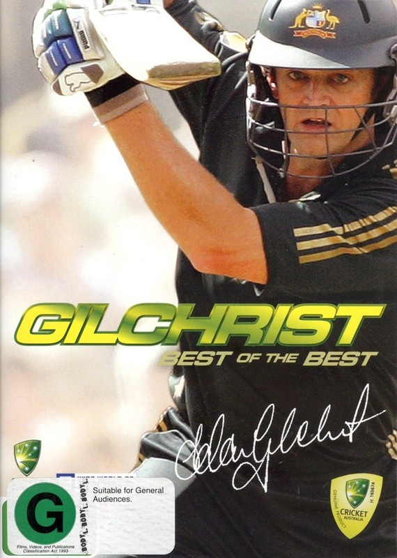 Gilchrist - Best Of The Best on DVD