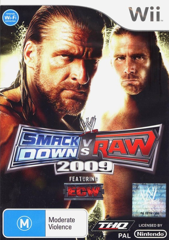 WWE SmackDown! vs. RAW 2009 for Wii