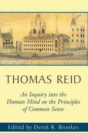 An Inquiry into the Human Mind by Thomas Reid image