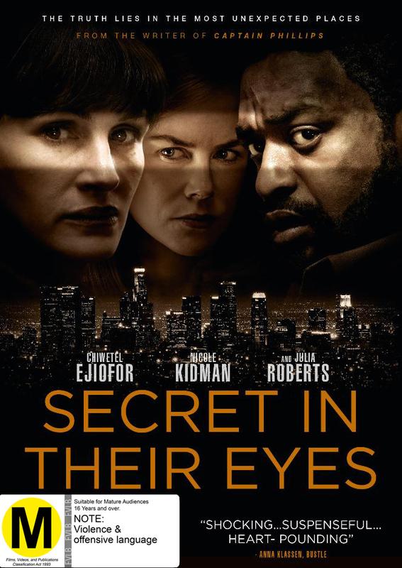 The Secret In Their Eyes on DVD