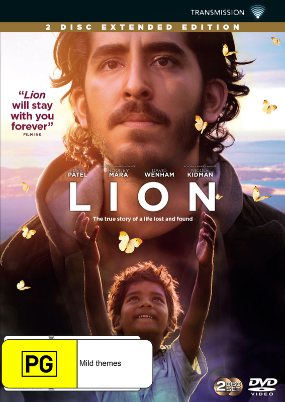 Lion on DVD
