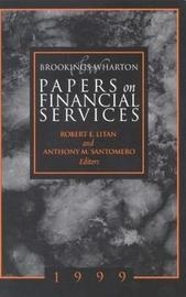 Brookings-Wharton Papers on Financial Services: 1999