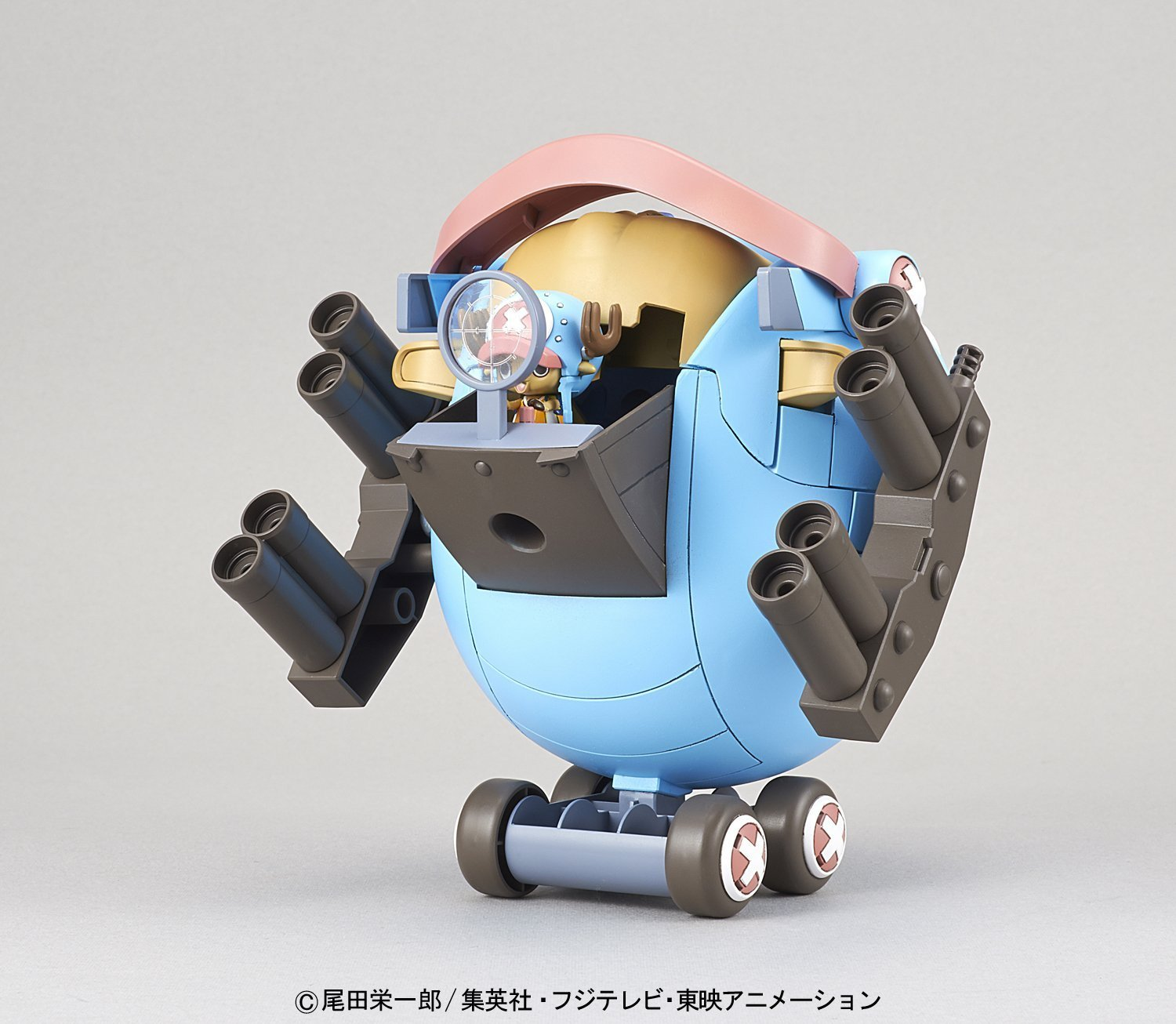 One Piece: Chopper Robo Super No.1 Guard Fortress - Model Kit image