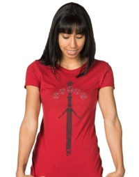 The Witcher: Silver Sword Women's T-Shirt - (XL) image