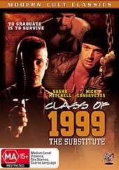 Class Of 1999: The Substitute on DVD