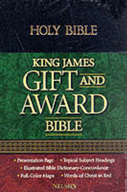Bible: Authorized King James Version Gift and Award Bible image