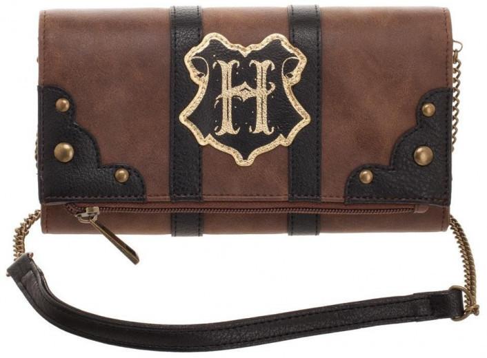 Harry Potter Trunk Inspired Foldover Clutch Bag image