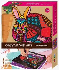 Avenir: Canvas Pop Art Kit - Rabbit
